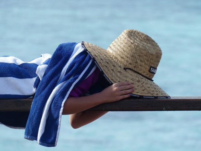 Laat vakantie ook echt vakantie zijn.